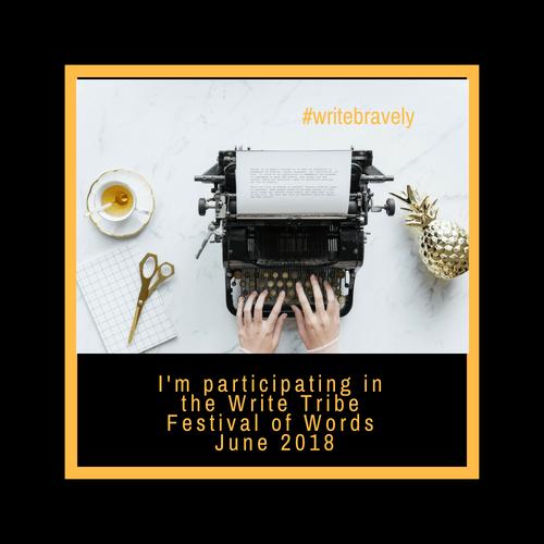 write-tribe-festival-of-words-june-2018-write-bravely-natasha-musing-logo