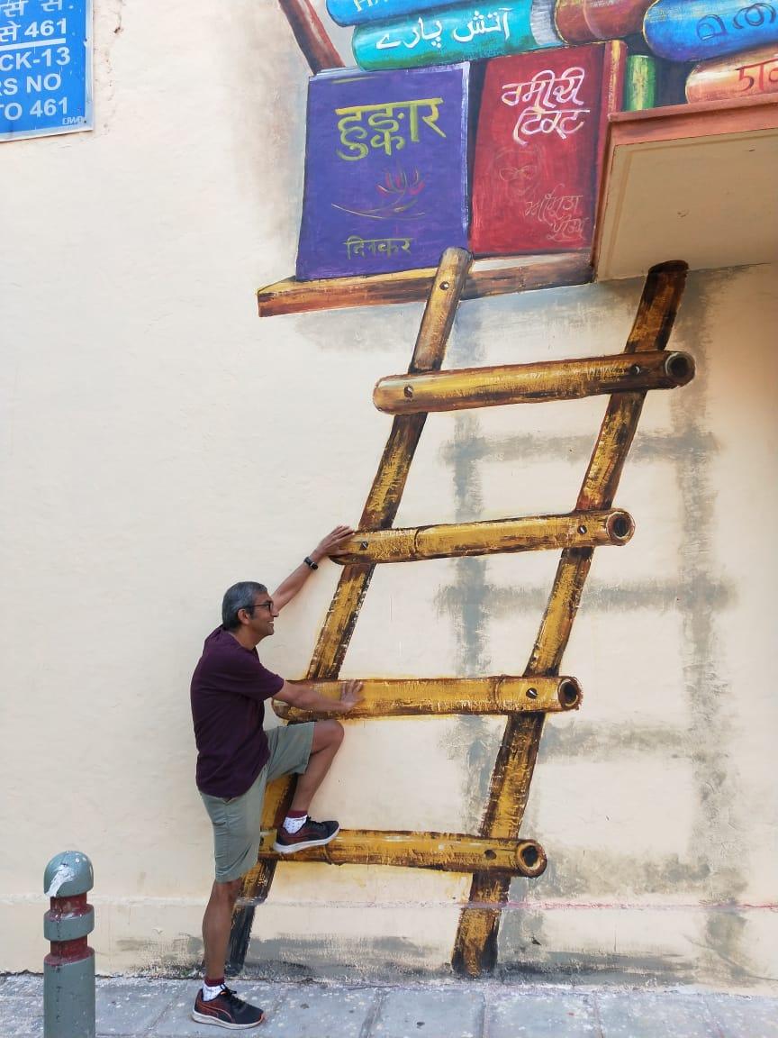 wordless-wednesday-natasha-musing-lodhi-art-district-ladder