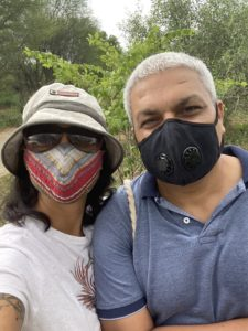 Masked in Nature, fight against Covid