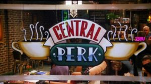 Central Perk sign board from Friends