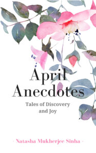 Book cover- April Anecdotes- flowers