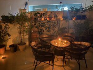 Diwali lamps-Terrace lighting