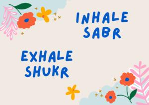 Shukr-Sabr-flower art