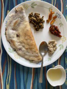 Breakfast - Uttapam