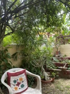 Garden chair- Rock garden