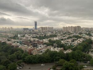 Monsoon clouds- Sky view