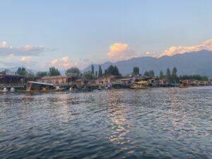 Dal lake- sunset