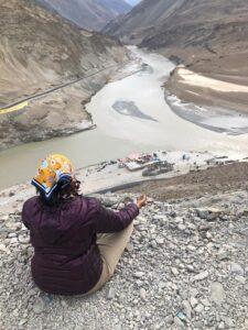 Meditating - Indus Zanskar